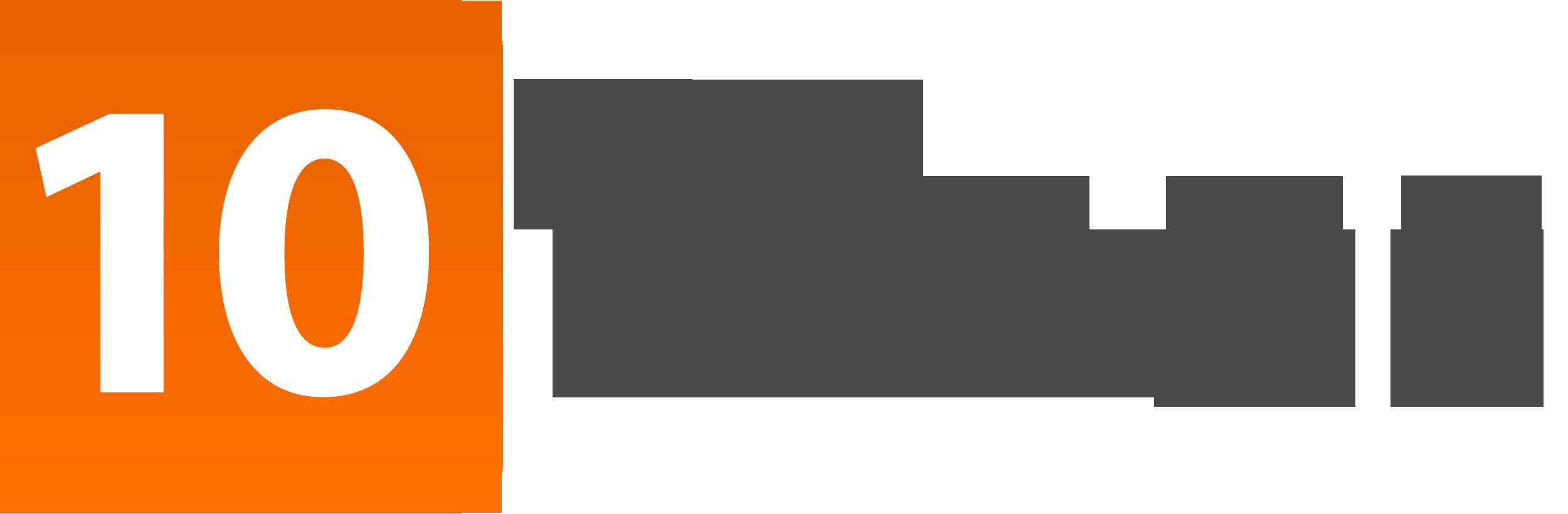 Image result for 10 times logo